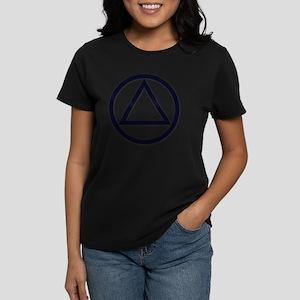 AA_symbol_dark Women's Dark T-Shirt