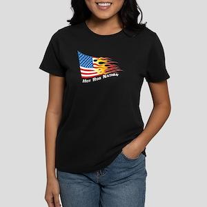 Nation Flag Women's Dark T-Shirt