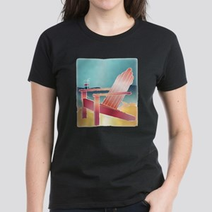 Adirondack Chear Beside the Beach T-Shirt