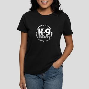 Final_Logo_for_K-9_lifesavers_BLACK_SHIRT T-Shirt
