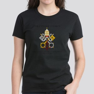 The Catholic Church Women's Dark T-Shirt