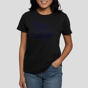 Dear God Women's Dark T-Shirt
