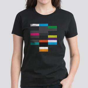 Solarstone 'Pure' Cover Art Women's Dark T-Shirt