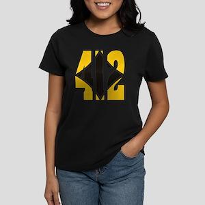 412 Gold/Black-W Women's Dark T-Shirt