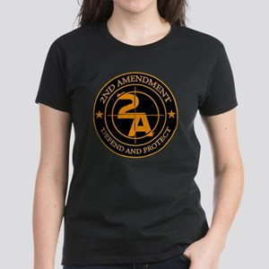 2ND Amendment 3 Women's Dark T-Shirt