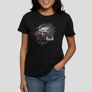 trucking Women's Dark T-Shirt