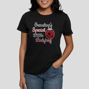 Grandma's Ladybug Women's Dark T-Shirt