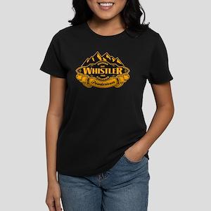 Whistler Mountain Emblem Women's Dark T-Shirt