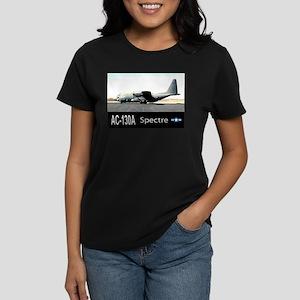 C-130 SPECTRE GUNSHIP Women's Dark T-Shirt