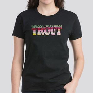 Rainbow TROUT Women's Dark T-Shirt