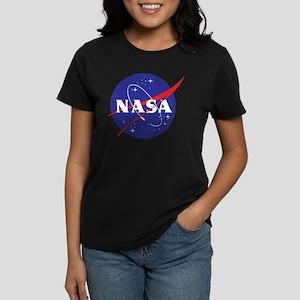 NASA Logo Women's Dark T-Shirt