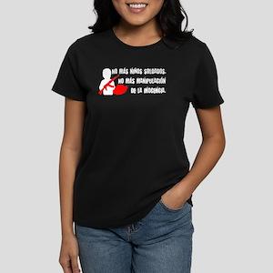 No más niños soldados Women's Dark T-Shirt