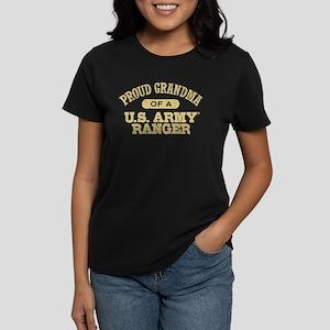 Army Ranger Grandma Women's Dark T-Shirt