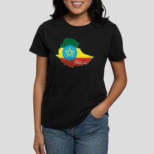Cool Ethiopia Women's Dark T-Shirt