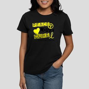 PEACE LOVE CURE Bladder Cancer (L1) T-Shirt