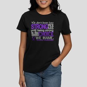 Epilepsy HowStrongWeAre Women's Dark T-Shirt