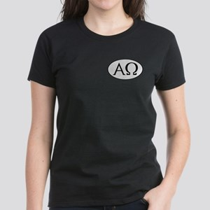 Alpha and Omega Women's Dark T-Shirt