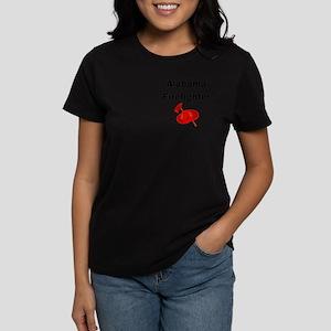 Alabama Firefighter Women's Dark T-Shirt