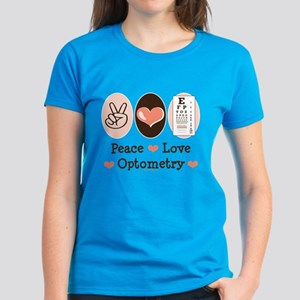 Peace Love Mahjong Women's Dark T-Shirt