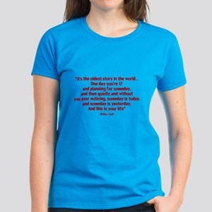 Nathan Quote (Tree Hill) Women's Dark T-Shirt