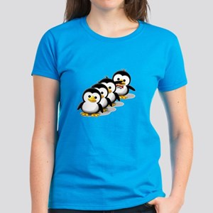 Flock of Penguins Women's Dark T-Shirt