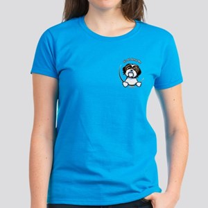 Pocket Shih Tzu IAAM Women's Dark T-Shirt