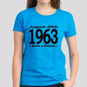 1963 - I Have a Dream Women's Dark T-Shirt