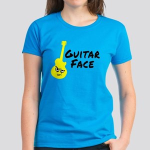 Guitar Face Women's Dark T-Shirt