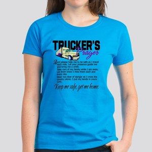 Trucker's Prayer Women's Dark T-Shirt