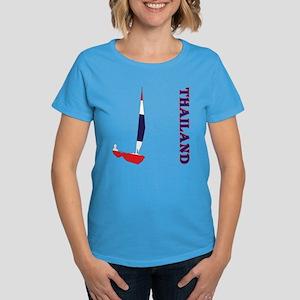 Sailing Thailand Women's Dark T-Shirt
