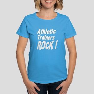 Athletic Trainers Rock ! Women's Dark T-Shirt