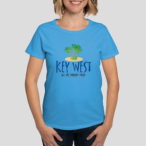 Key West Therapy - Women's Dark T-Shirt