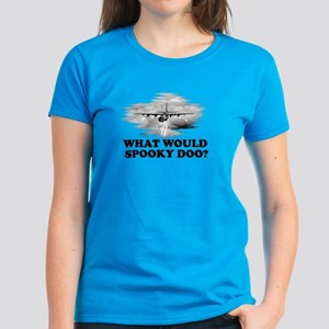What would Spooky Doo?C-130 Women's Dark T-Shirt