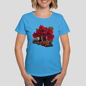 18 Wheels & A Dozen Roses Women's Dark T-Shirt