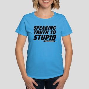 Speaking Truth To Stupid The Newsroom T-Shirt