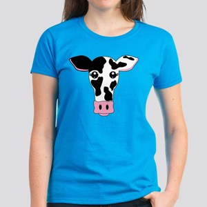 Cute Cow Women's Dark T-Shirt