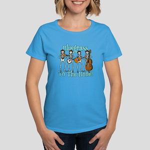 Bluegrass Bones! Women's Dark T-Shirt