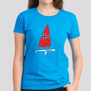 Norway Dinghy Sailing Women's Dark T-Shirt