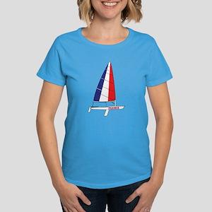 France Dinghy Sailing Women's Dark T-Shirt