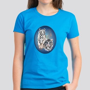 White Tigers Shirts Women's Dark T-Shirt