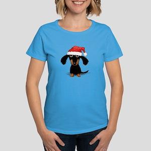 Doxie Clause Women's Dark T-Shirt