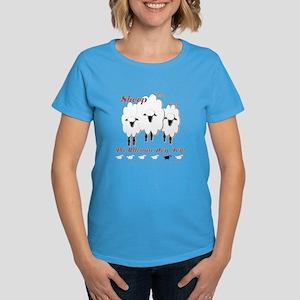 Sheep Dog Toy Women's Dark T-Shirt