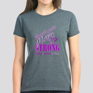 Marine Mom Strong Purple T-Shirt