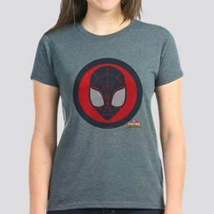 Ultimate Spider-Man Miles Mor Women's Dark T-Shirt
