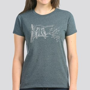 Twin Peaks Owls Women's Dark T-Shirt
