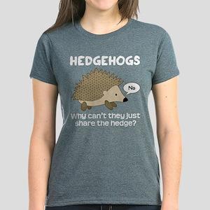 e239eea4c Hedgehog Women's T-Shirts - CafePress