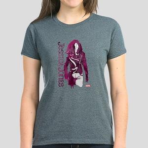 Jessica Jones Silhouette Women's Dark T-Shirt