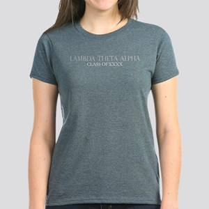 Lambda Theta Alpha Class of X Women's Dark T-Shirt