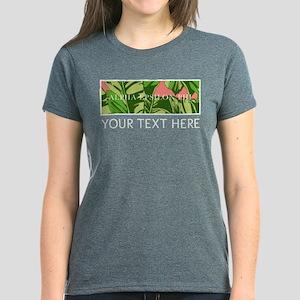 Alpha Epsilon Phi Banana Leav Women's Dark T-Shirt