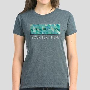 Delta Phi Epsilon Geometric P Women's Dark T-Shirt